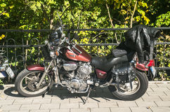 Vintage motorbike Stock Photo