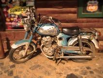 Vintage motorbike Stock Photography