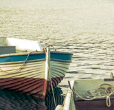 Vintage motorboats Stock Images