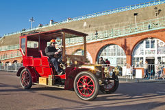 Vintage motorcar Royalty Free Stock Photo