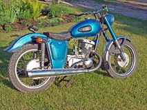 Vintage motorcycle 2 royalty free stock photography