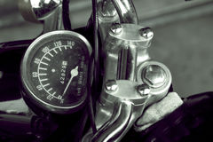 Vintage Motorcycle detail Royalty Free Stock Images