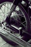 Vintage Motorcycle detail Royalty Free Stock Photo