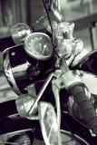Vintage Motorcycle detail Royalty Free Stock Image