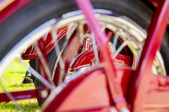 Vintage Motorcycle Detail Royalty Free Stock Photos