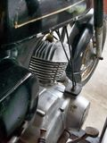 Vintage motorcycle engine Royalty Free Stock Photography