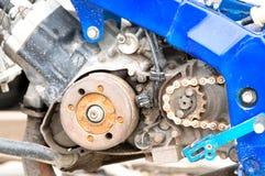 Vintage motorcycle engine Repair Royalty Free Stock Image