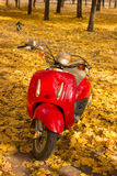 Vintage motorcycle . Royalty Free Stock Photography