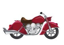 Vintage motorcycle. Rider trasportation centaur Stock Photos