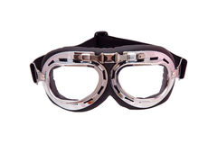 Vintage motorcycle safety glasses Stock Photos