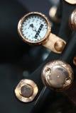 Vintage motorcycle speedometer Stock Photo