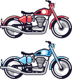 Vintage Motorcycle stylized vector Royalty Free Stock Image