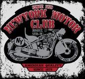 Vintage Motorcycle vector Set.skull riders motorbike vector set Royalty Free Stock Image