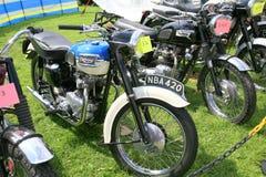 Vintage motorcycles. Stock Photos