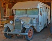 Vintage A Motorhome modèle Images stock