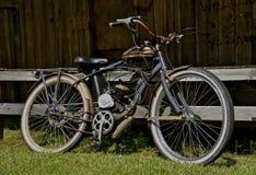 Vintage motorized bicycle Stock Photo
