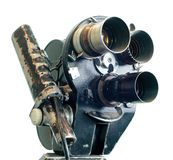 Vintage Movie Camera Stock Photo