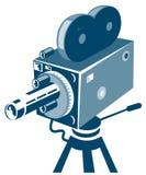 Vintage Movie Camera Stock Image