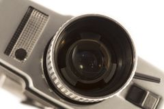 Vintage movie camera royalty free stock images