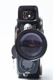 Vintage movie camera. Is made in the USSR Stock Image