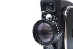 Vintage movie camera. Is made in the USSR Royalty Free Stock Photos