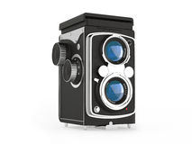 Vintage movie camera. See my other works in portfolio Royalty Free Stock Images
