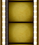 Vintage Movie Film Frames Stock Images