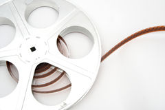 Vintage movie film and reel Stock Image