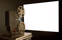 Vintage Movie Projector Stock Photography