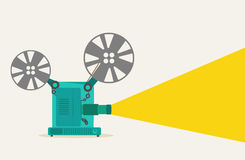 Vintage movie projector Royalty Free Stock Photo