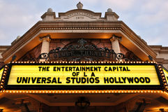Vintage movie theatre at Universal Studios Stock Photos