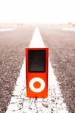 Vintage MP3 Music Player Stock Photos