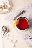 Vintage mug of tea Stock Images