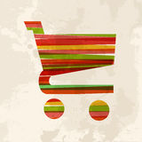 Vintage multicolor ecommerce Stock Photography