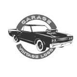 Vintage muscle car. Stock Images
