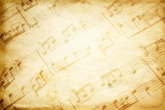 Vintage music Stock Images
