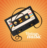 Vintage Music Background. Vector Royalty Free Stock Photos
