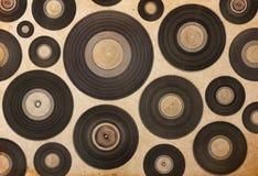 Vintage musical background vector illustration