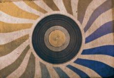 Vintage musical background Stock Image