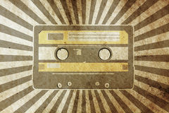 Vintage musical background Stock Images