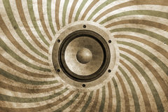 Vintage musical background Stock Photography