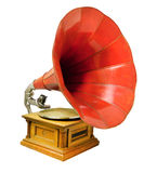 Vintage musical gramophone Royalty Free Stock Images