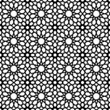 Vintage muslim mosaic tile background decoration art royalty free illustration