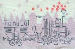 Vintage napkin, background, paper texture Stock Image