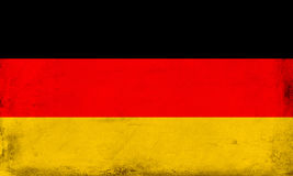 Vintage national flag of Germany background Royalty Free Stock Photos
