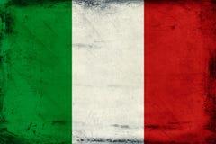 Vintage national flag of Italy background Royalty Free Stock Image