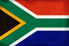Vintage national flag of South Africa background Royalty Free Stock Image