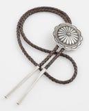 Vintage, nativo americano Bolo Tie. Fotografía de archivo