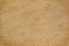 Vintage natural linen fabric with free designs for the backgroun Royalty Free Stock Image