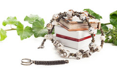 Vintage necklace Royalty Free Stock Images